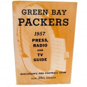 1957 Green Bay Packers Press Guide