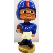 "1962-65 New York Giants ""Toes Up"" Nodder – High Grade!"