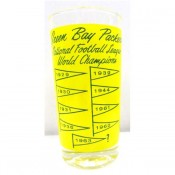 1960's Green Bay Packers Championship Glass