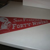 1960s San Francisco 49ers Football Felt Pennant