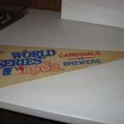 1982 World Series Pennant Brewers Vs. Cardinals