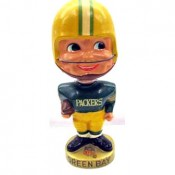 1960′s Green Bay Packers Gold Base Nodder