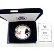 2011 Proof Silver Eagle Coin