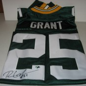 Green Bay Packers Ryan Grant Autographed Jersey