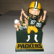 Green Bay Packers Jordy Nelson Lambeau Leap Bobblehead Doll Exclusive