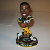 Titletown Nostalgia Exclusive James Jones Bobblehead