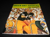 Scarce Glossy Cover 1964 Green Bay Packers Yearbook