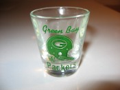 1960s Green Bay Packers Shot Glass With NFL Shield