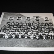 1960 Green Bay Packers Team Photo