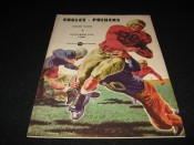 1946 Philadelphia Eagles Green Bay Packers Game Program October 13