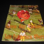 1953 Green Bay Packers San Francisco 49ers Game Program
