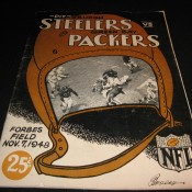 1948 Pittsburgh Steelers Green Bay Packers Game Program