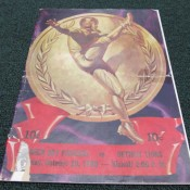 1940 Green Bay Packers Detroit Lions Game Program