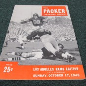 1948 Green Bay Packers Los Angeles Rams Game Program