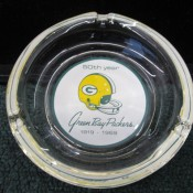 1919-1969 Green Bay Packers 50th Year Anniversary Ashtray