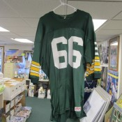 Scarce Durene Green Bay Packers Ray Nitschke Green Jersey Ripon Tag