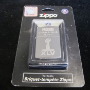Green Bay Packers Super Bowl 45 Champions Zippo Cigarette Lighter MIB
