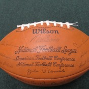 1973 Green Bay Packers Facsimile Autographed Team Signed Football