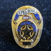 Super Bowl 31 New Orleans Police Miniature Badge