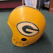 1960s Green Bay Packers Game Used Helmet Shell Allen Brown 83