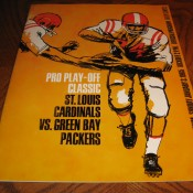 1964 NFL Pro Play-Off Classic Game Program Packers Cardinals