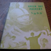 Scarce 1960 Green Bay Packers Media Guide