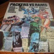 Green Bay Packers Los Angeles Rams 1967 Western Conference Playoff Program