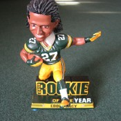 Limited Edition PCA Exclusive Eddie Lacy Rookie Of The Year Bobblehead Doll