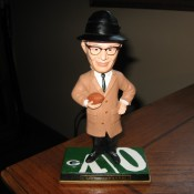 Vince Lombardi Iconic Image 8″ Bobblehead Doll New Product