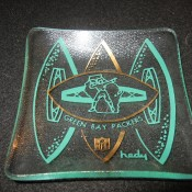 Scarce Green Bay Packers Hedy Ashtray