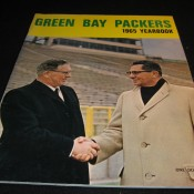 1965 Green Bay Packers Yearbook Excellent Condition