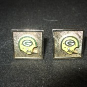 1960s Green Bay Packers Cufflinks