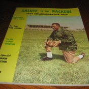 1964 Third Edition Salute To The Packers Yearbook