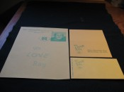 Scarce Ray Nitschke Day Stationary Note Card & Envelope From Nitschke Estate