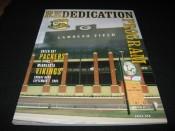 2003 Green Bay Packers Re-Dedication Of Lambeau Field Program