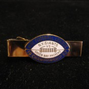 1962 NFL World Championship Game Press Pin Tie Bar Packers Giants