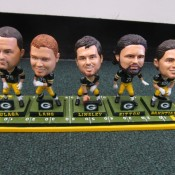 Green Bay Packers Mini Offensive Lineman Bobble Heads