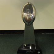 Brett Favre Autographed Super Bowl 31 Replica Trophy
