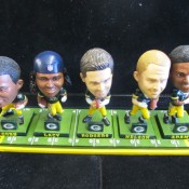 Exclusive Limited Edition Green Bay Packers Offense Playmakers Bobblehead Set