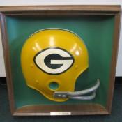 Scarce Variation Green Bay Packers Helmet Plaque Sears Circa 1967