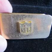 1965 NFL Championship Money Clip Balfour