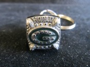 Green Bay Packers Super Bowl 45 Championship Ring Keychain