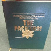 "75th Anniversary ""The Packers"" Autographed Book Starr Hutson Canadeo Nitschke"