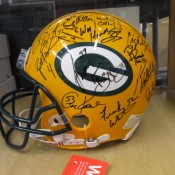 1998 Packers Full Size Team Autographed Helmet
