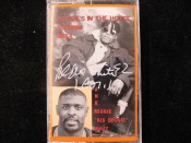 Reggie White Autograph on Doogie's In The House Cassette Tape