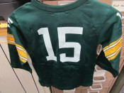1960's Kids Bart Starr Jersey With Original Shoulder Padding RARE