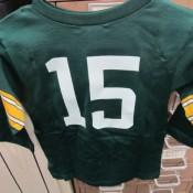 1960's Kids Bart Starr Jersey With Original Shoulder Padding RARE