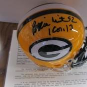 Reggie White Autographed Mini Helmet JSA Certified