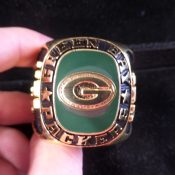 Green Bay Packers Paperweight Ring