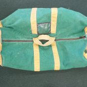 1960s/1970s Green Bay Packers Team Issued Used Equipment Bag